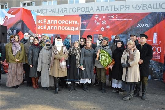 Жители районов и городов республики присоединились к акции памяти «Строителям безмолвных рубежей..»