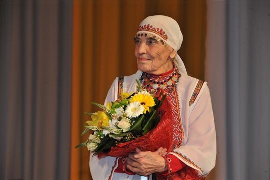Народная артистка СССР Вера Кузьмина отмечает 97-летие
