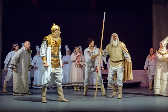В Чебоксарах проходит V Межрегиональный фестиваль национальных ТЮЗов и молодежных театров «Волжская сказка»