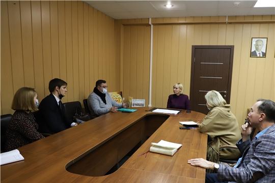 Светлана Каликова встретилась с участниками проекта Межвузовский студенческий театр «Абрикосовый сад»