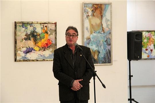Готовится к открытию юбилейная выставка заслуженного художника Чувашии Александра Фёдорова