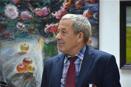 В Художественном музее открылась выставка члена Союза чувашских художников Виталия Яковлева