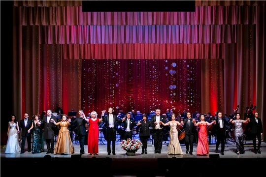 В Чебоксарах завершился Гала-концерт XXX Международного оперного фестиваля им. М.Д. Михайлова
