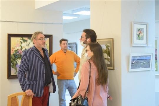 Открылась юбилейная выставка заслуженного художника Чувашии Александра Фёдорова