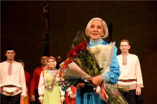 В Чувашском драмтеатре прошел юбилейный вечер народной артистки РСФСР Нины Яковлевой