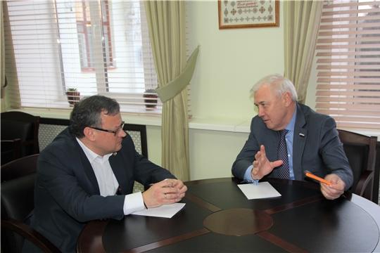 Михаил Ноздряков встретился спредседателем Комитета Государственной Думы по финансовому рынкуАнатолием Аксаковым