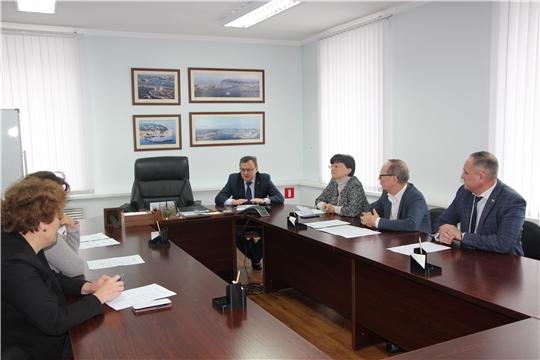 Состоялась рабочая встреча с членами Общественного совета при Минфине Чувашии