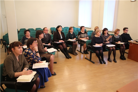 Заседание рабочей группы по совершенствованию межбюджетных отношений и организации бюджетного процесса в муниципальных образованиях Чувашии