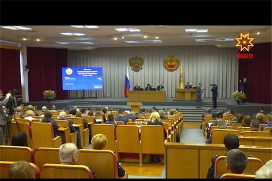Депутаты Госсовета Чувашии одобрили поправки в Конституцию и в бюджет Чувашии (Сюжет НТРК Чувашии)