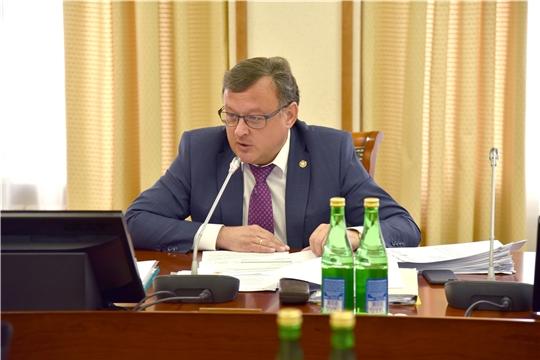 Михаил Ноздряков выступил с Отчетом об исполнении республиканского бюджета за первое полугодие 2020 года