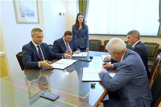 Заключение Соглашения о сотрудничестве по повышению финансовой грамотности населения Чувашской Республики