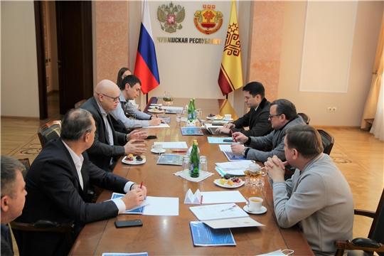 Алексей Лавров провел рабочее совещание в Доме Правительства