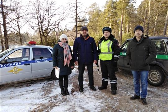 В Чувашской Республике подведены итоги работы по охране хвойных молодняков за период новогодних праздников