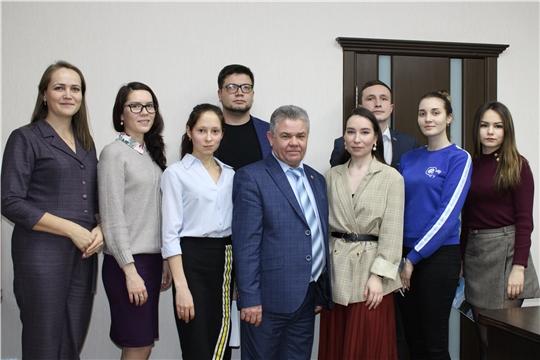 Министр И. Исаев встретился с молодыми экоактивистами