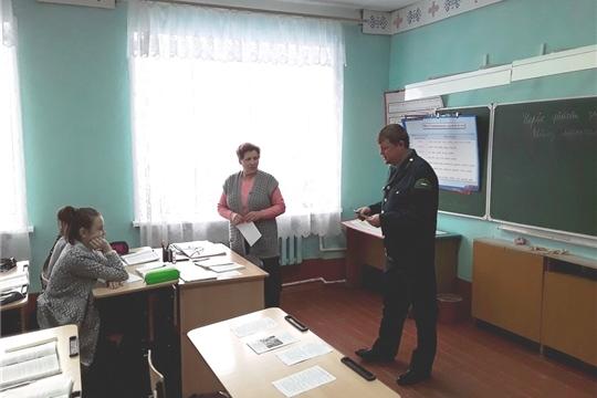 Инспекторы КУ «Лесная охрана» Минприроды Чувашии провели профилактическую работу среди населения
