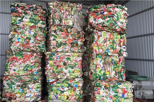 На концессионных объектах Чувашии продолжают отсортировывать упаковки Tetra Pak