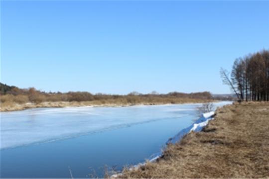 О гидрологической обстановке на реках России