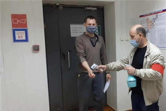 Меры по предупреждению новой коронавирусной инфекции в Ибресинском лесничестве