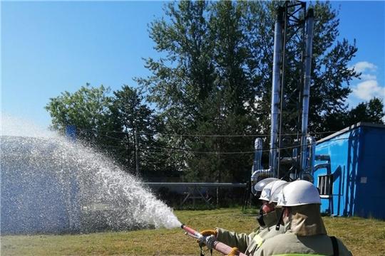 В филиале АО «Управление отходами» в г. Новочебоксарске проведены плановые противопожарные тренировки
