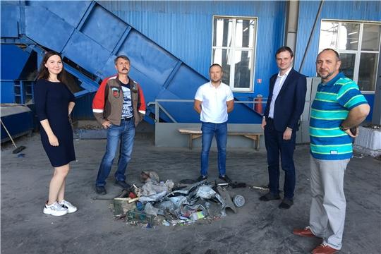 Представители Национальной экологической компании посетили концессионные объекты филиала АО «Управление отходами» в г. Новочебоксарске