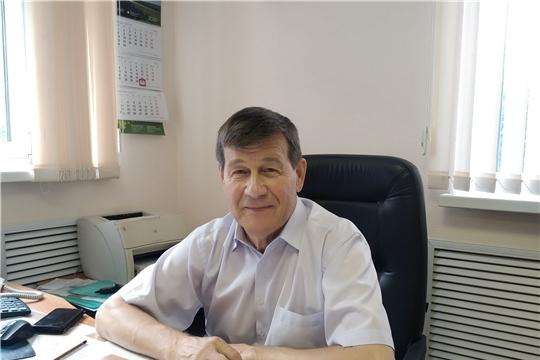 Директор БУ ЧР «Чувашский республиканский радиологический центр» Евгений Юшин награжден знаком «Отличник охраны природы»