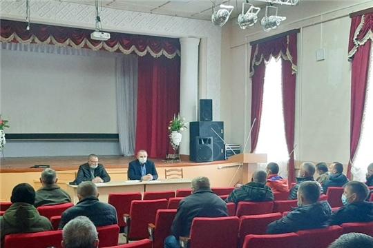 Состоялось совещание с охотниками и охотпользователями Моргаушского района