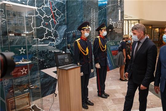 Олег Николаев дал старт марафону событий, посвященных трудовому подвигу строителей Сурского и Казанского оборонительных рубежей