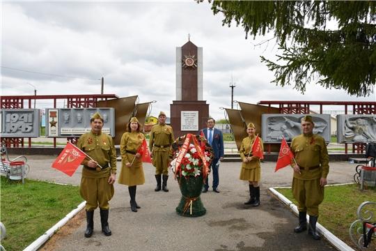 Предприятия Чувашии поздравляют своих ветеранов с Днем Победы