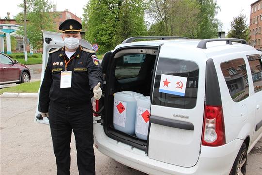 «Химпром» поддерживает волонтеров в условиях пандемии