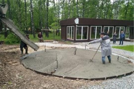 КБЭА приступило к строительству интерактивных игровых площадок в Детском парке имени космонавта А. Г. Николаев