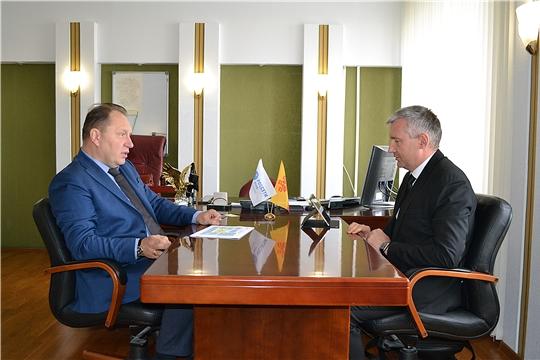 Министр промышленности и энергетики Чувашской Республики  побывал с рабочим визитом в филиале «Чувашэнерго»