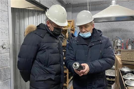 Министр промышленности и энергетики Чувашской Республики посетил с рабочим визитом предприятие ООО «Элкон»