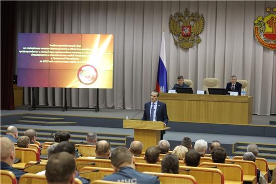 Глава Республики Михаил Игнатьевпоблагодарил спасателей за работу