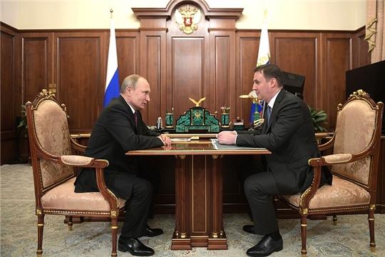 Владимир Путин: «Прошедший год селяне отработали, как обычно, на «отлично»