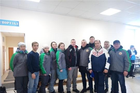 Спортсмены Минсельхоза Чувашии приняли участие в «Лыжне России - 2020»