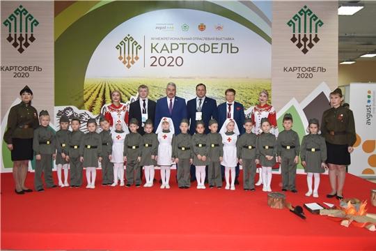 Сегодня в Чебоксарах открылась XII Межрегиональная отраслевая выставка «Картофель-2020»