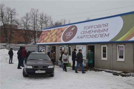 В первый день работы выставки Картофель-2020 реализовано более 10 тонн семенного картофеля