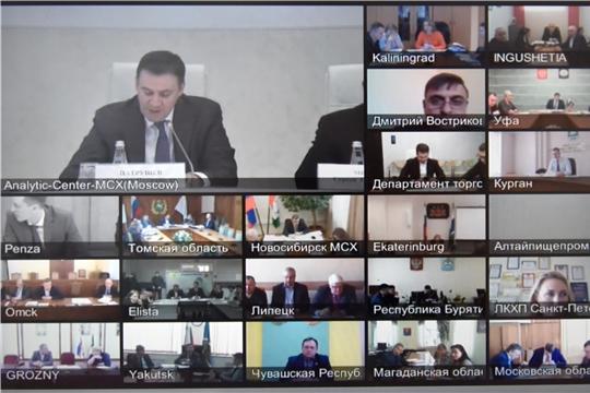 Дмитрий Патрушев: обстановка на продовольственном рынке стабильна