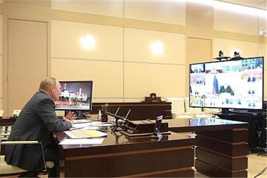 Дмитрий Патрушев доложил Президенту России о ходе весенней посевной