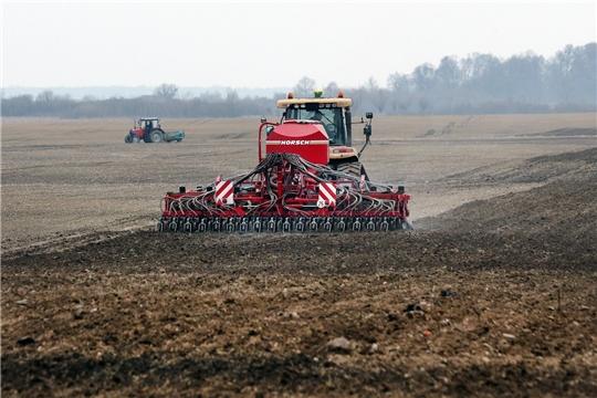 Этой весной аграрии Чувашии планируют посеять 305 тысяч гектаров яровых