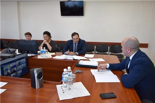 Сергей Артамонов в режиме ВКС провел еженедельное совещания с руководителями подведомственных организацийи руководителями структурных подразделений Минсельхоза Чувашии