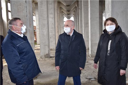 Рабочий визит в АО «НПО «Каскад»