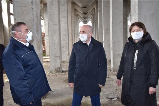 Сергей Артамонов ознакомился с ходом реализации инвестиционного проекта на площадке Канашского элеватора