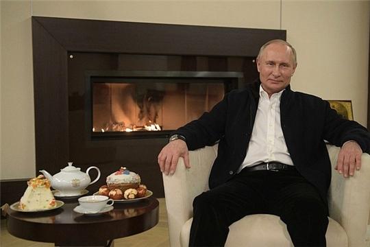 Поздравление Владимира Путина с праздником Пасхи