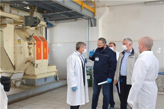 Алатырский комбикормовый завод увеличит объемы производства в два раза