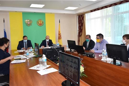 Совещание с заместителями глав администраций районов по АПК