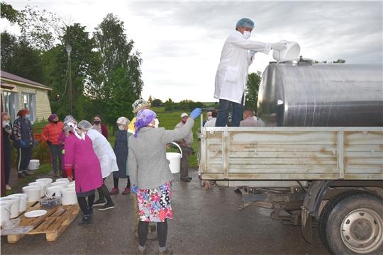 Рабочая поездка в Моргаушский район