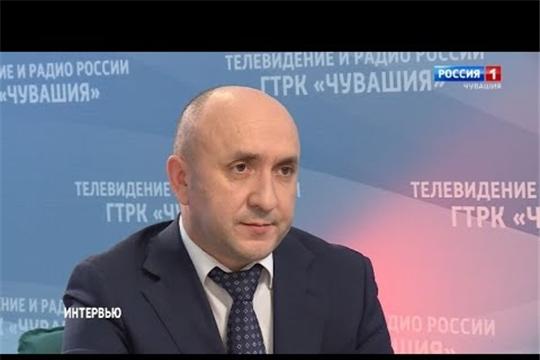 Вести. Интервью на чувашском языке.