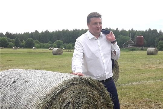 Павел Косов о перспективах сотрудничества чувашских аграриев с Росагролизингом