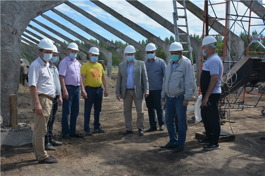 Сергей Артамонов в рамках рабочей поездки посетил Канашский, Комсомольский и Батыревский районы.